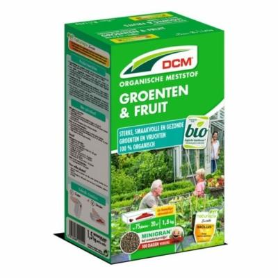 DCM növénytáp zöldség- és fűszernövényekhez (1,5 kg)