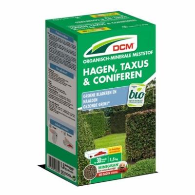 DCM növénytáp fenyőkhöz és örökzöld növényekhez (1,5 kg)