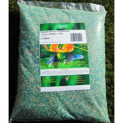 DYRA hosszú hatású gyeptrágya 8 hó (15kg )