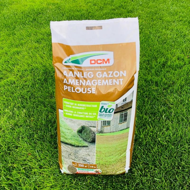 DCM Bio telepítő gyeptáp (10 kg)